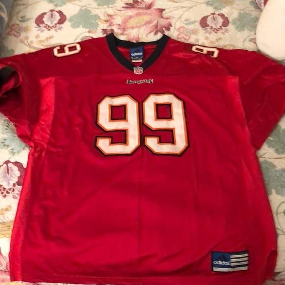 NFL Tampa Bay Buccaneers Warren Sapp Jersey. adidas.  M 5c62181c12cd4a9cea1b0fbe. M 5c621827c2e9fef7393a45fe.  M 5c6218a2194dad512651c2b5 837a13124